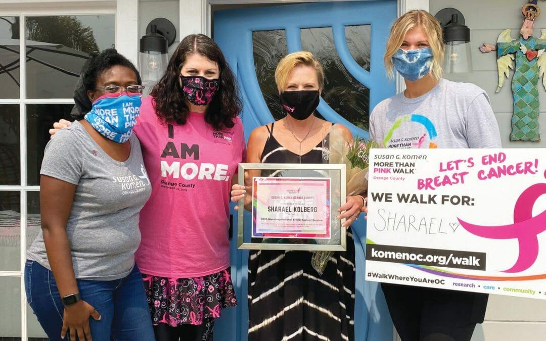 "LAGUNA BEACH LOCAL NAMED ""2020 MOST INSPIRATIONAL BREAST CANCER SURVIVOR"""